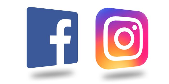 Logá Facebook a Instagram