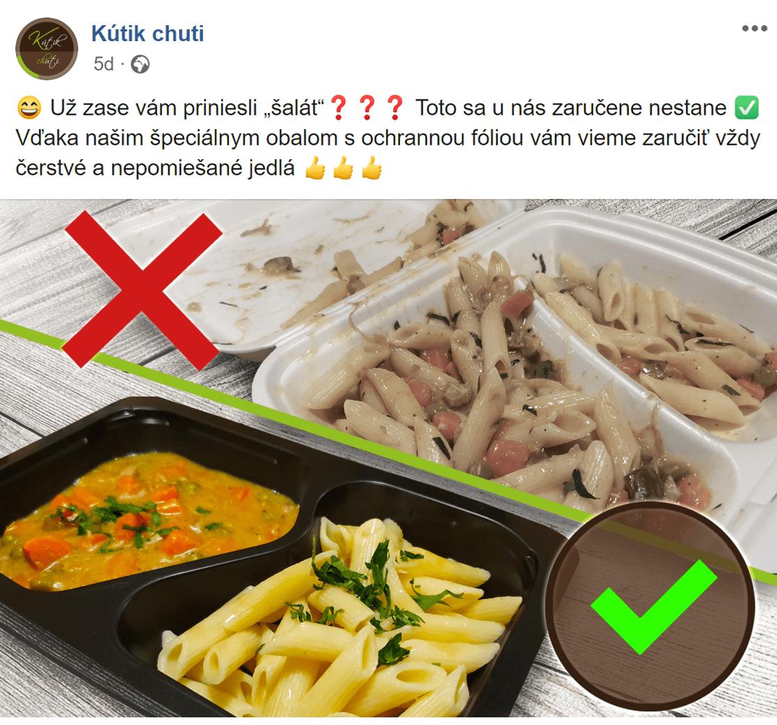 Facebook reklama pre Kutik chuti - ukážka 7